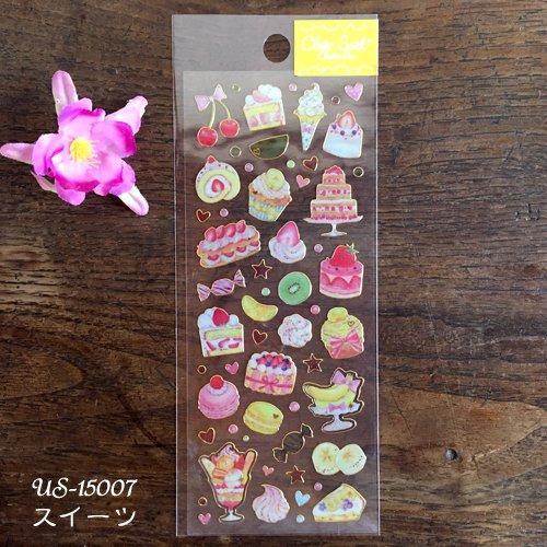 Clothes-Pin(クローズピン) たけいみきシリーズ ふち箔クリアシールの商品写真2