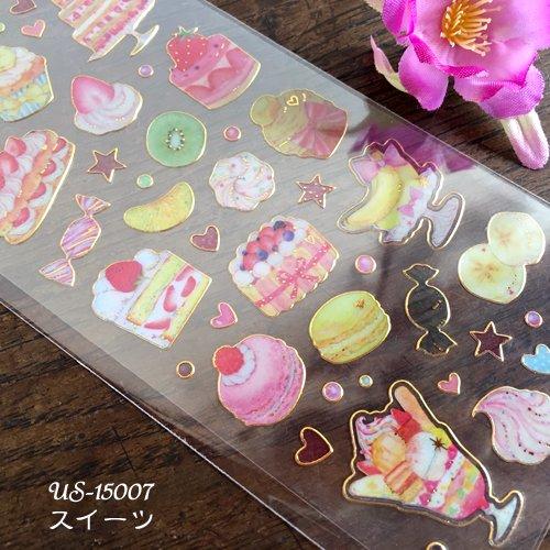 Clothes-Pin(クローズピン) たけいみきシリーズ ふち箔クリアシールの商品写真3