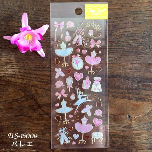 Clothes-Pin(クローズピン) たけいみきシリーズ ふち箔クリアシールの商品写真4