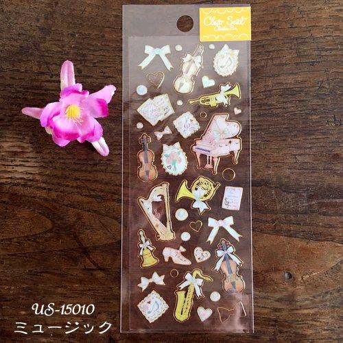 Clothes-Pin(クローズピン) たけいみきシリーズ ふち箔クリアシールの商品写真6