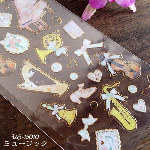 Clothes-Pin(クローズピン) たけいみきシリーズ ふち箔クリアシールの商品写真7