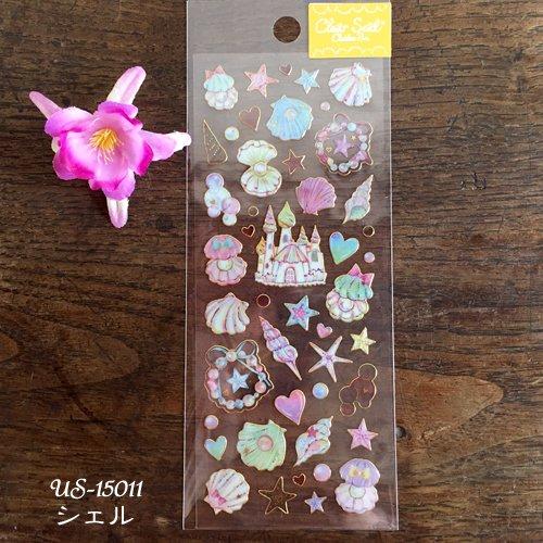 Clothes-Pin(クローズピン) たけいみきシリーズ ふち箔クリアシールの商品写真8