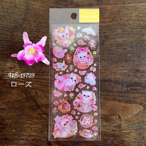 Clothes-Pin(クローズピン) 飴ノ森ふみかシリーズ ふち箔クリアシールの商品写真2
