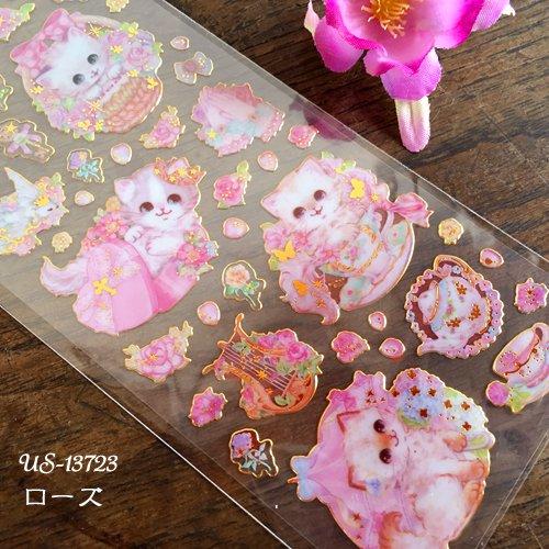 Clothes-Pin(クローズピン) 飴ノ森ふみかシリーズ ふち箔クリアシールの商品写真3