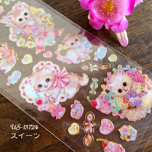 Clothes-Pin(クローズピン) 飴ノ森ふみかシリーズ ふち箔クリアシールの商品写真5