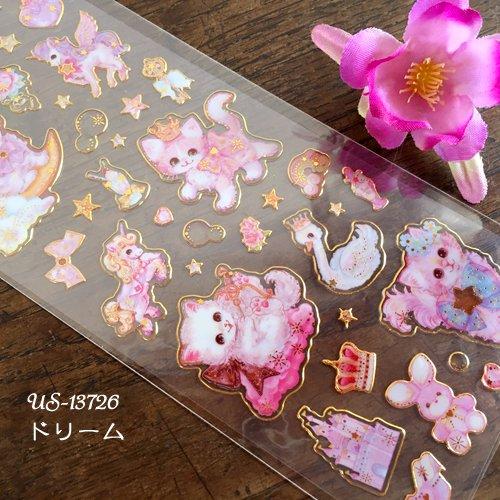 Clothes-Pin(クローズピン) 飴ノ森ふみかシリーズ ふち箔クリアシールの商品写真9