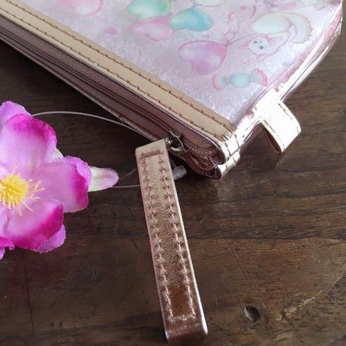 Clothes-Pin(クローズピン) たけいみきシリーズ クリアスリムポーチ キャットバルーンの商品写真4