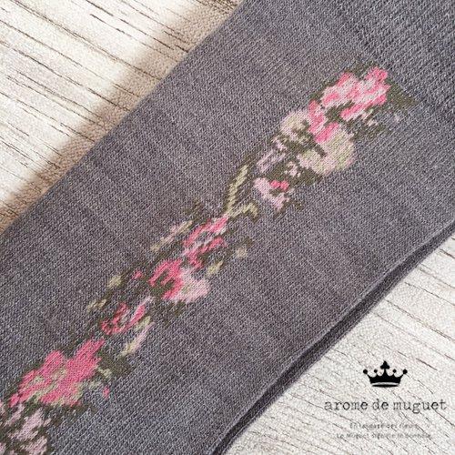 Arome de muguet(アロマドミュゲ) 靴下 花柄ソックスの商品写真3