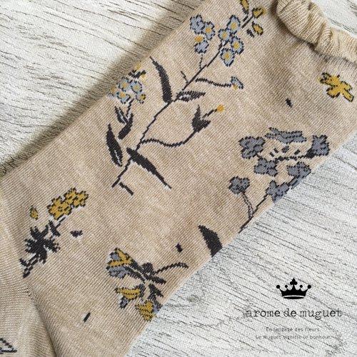 Arome de muguet(アロマドミュゲ) 靴下 フルーレットの商品写真3