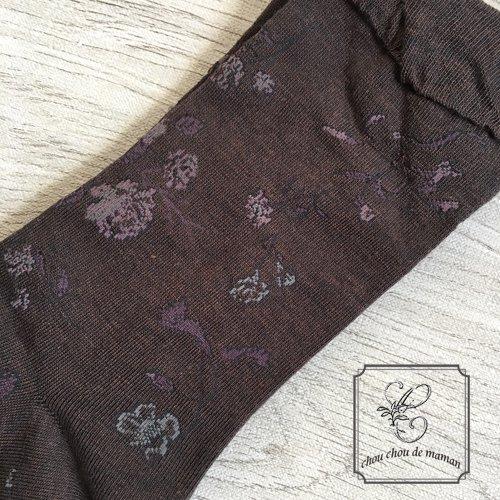 Arome de muguet(アロマドミュゲ) コットンソックス フラワー靴下の商品写真5