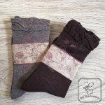 Arome de muguet(アロマドミュゲ) コットンソックス フラワー靴下