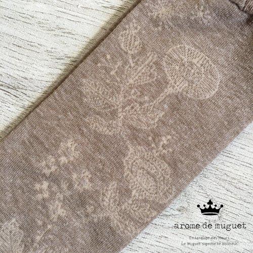 Arome de muguet(アロマドミュゲ) 秋風のワルツ ハイソックスの商品写真3