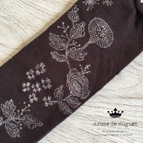 Arome de muguet(アロマドミュゲ) 秋風のワルツ ハイソックスの商品写真6