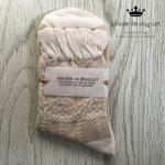 Arome de muguet(アロマドミュゲ) レースソックス ソックス