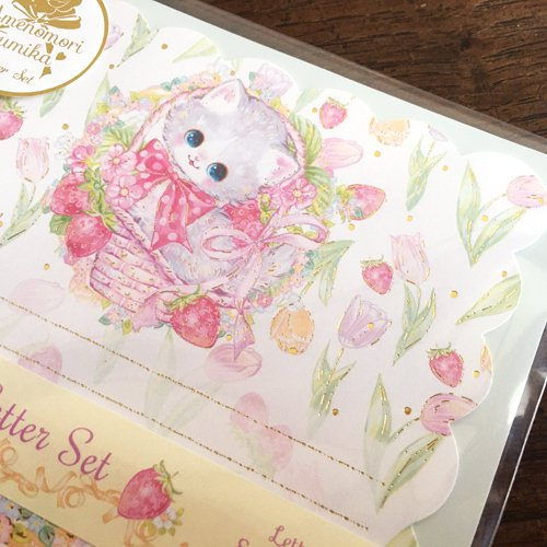 Clothes-Pin(クローズピン) 飴ノ森ふみかシリーズ レターセット ピュアフォレストの商品写真3