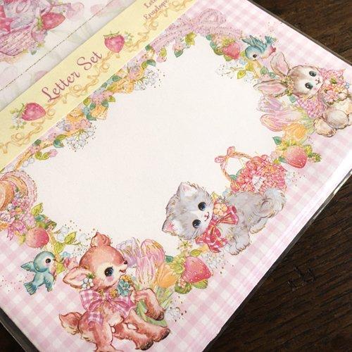 Clothes-Pin(クローズピン) 飴ノ森ふみかシリーズ レターセット ピュアフォレストの商品写真4