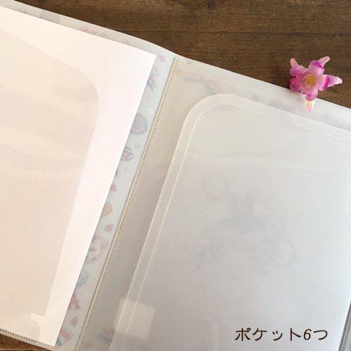 Clothes-Pin(クローズピン) たけいみきシリーズ A4サイズ クリアファイル 6ポケット ジッパー付きの商品写真6