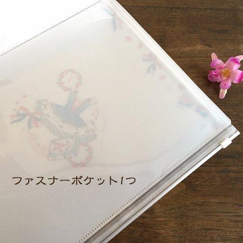 Clothes-Pin(クローズピン) たけいみきシリーズ A4サイズ クリアファイル 6ポケット ジッパー付きの商品写真7