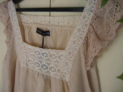 s.t.closet frabjous スクエアネックサンドレス ナチュラルの商品写真4