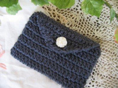 まころん* 手編みカードケースの商品写真3