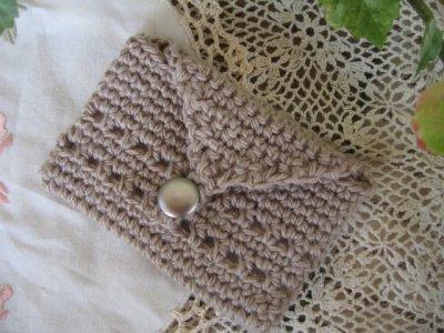 まころん* 手編みカードケースの商品写真4
