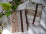 ゆきくまや カードケース 綿麻 花柄