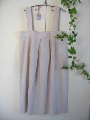 まころん* リネン ストラップジャンパースカートの商品写真2