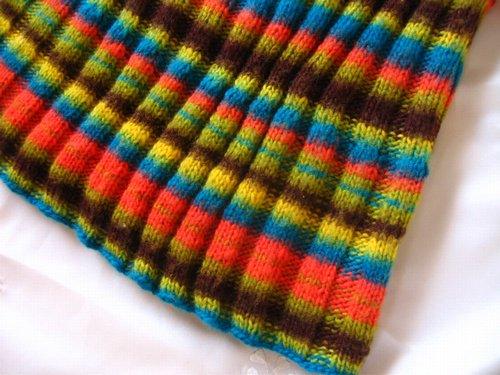 まころん* 手編みニットスカートの商品写真3