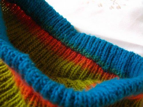 まころん* 手編みニットスカートの商品写真4