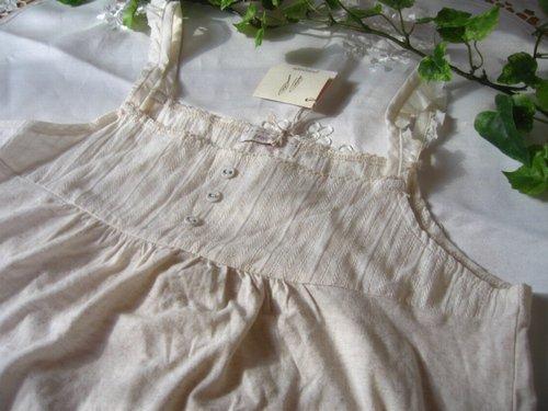 Peniphass 裾レースフレアキャミソール 生成りの商品写真3