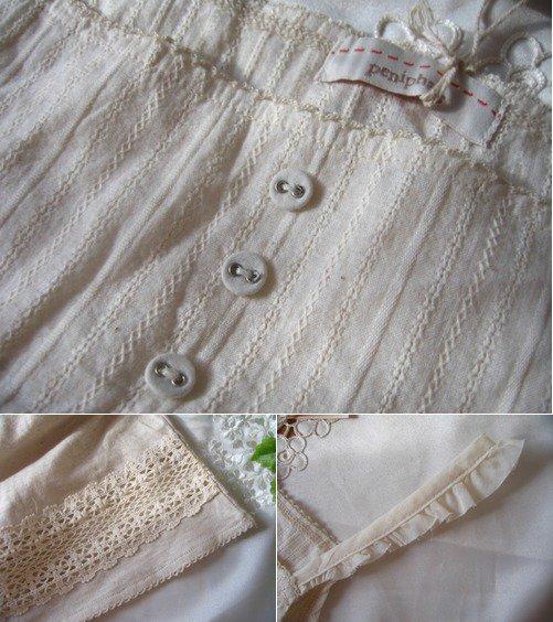 Peniphass 裾レースフレアキャミソール 生成りの商品写真4