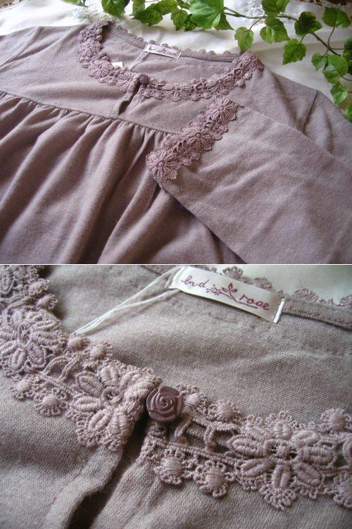 マーリア(maglia bud rose) ニットチュニックの商品写真3