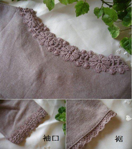 マーリア(maglia bud rose) ニットチュニックの商品写真4
