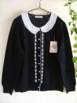 マーリア(maglia bud rose) レース襟×刺繍カーデ