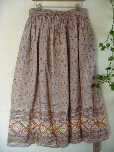 マシュカシュ パネルプリントスカートの商品写真2