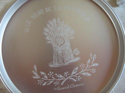 グランシュマン アルミラウンドトレイ 麦の商品写真2