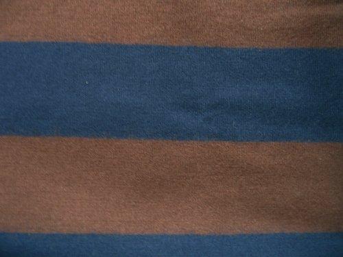 NARU ウールボーダーワンピース ブラウン×ブルーの商品写真6
