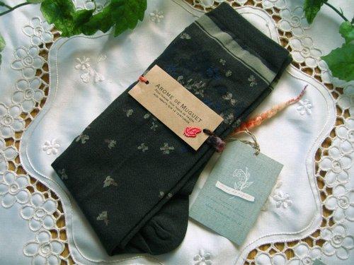 アロマドミュゲ すみれSOX 靴下の商品写真2
