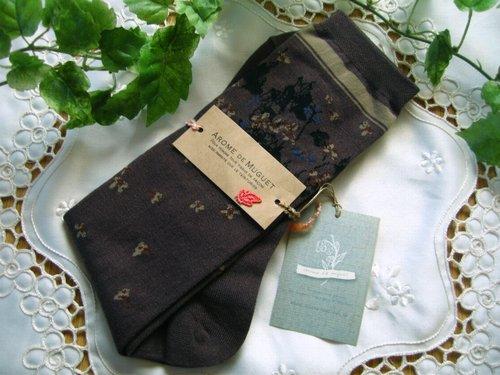 アロマドミュゲ すみれSOX 靴下の商品写真4