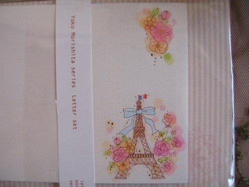 クローズピン Yoko Morishita シリーズ レターセットの商品写真4