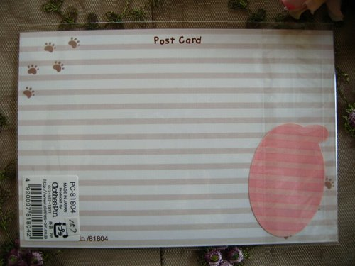 クローズピン 吹き出しシール付きポストカードの商品写真7