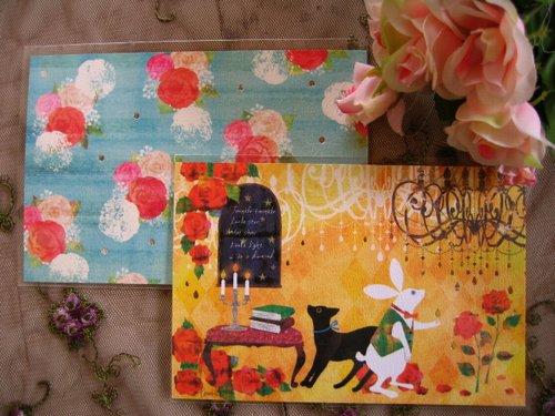 クローズピン tomokoシリーズ ポストカードの商品写真です