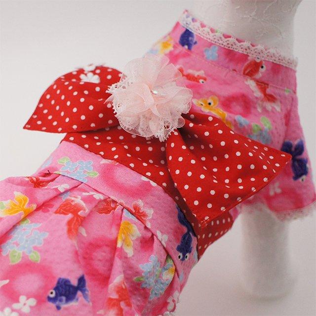 華集 Lulu doll 乙女の出目金ちゃん浴衣の商品写真4