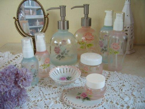 プランドパリ コスメティックガラス クリーム瓶の商品写真6