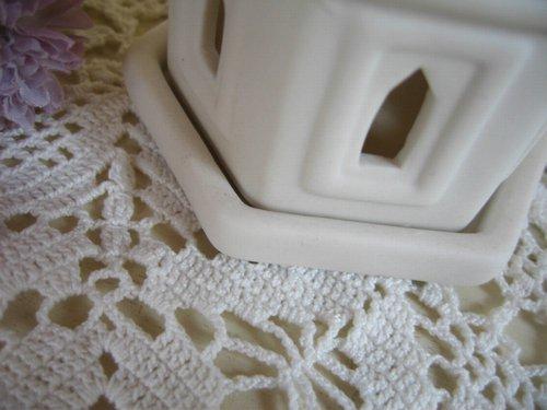 ホワイトキャッスル ティーライトキャンドルホルダーの商品写真6