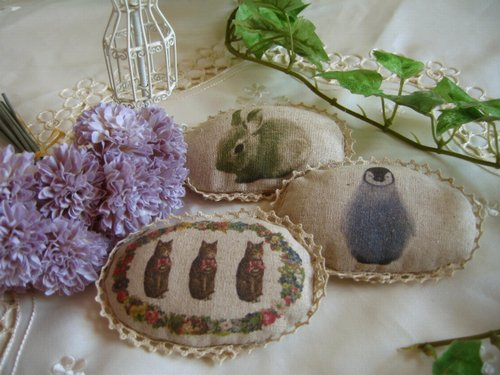 バレリーナピンク クッションブローチの商品写真です