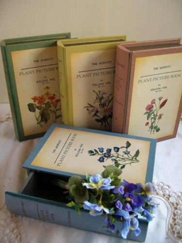 ティアラ 古い本の箱 秘密の引き出しの商品写真です