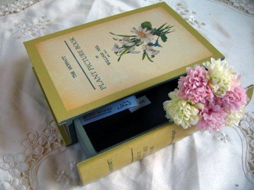ティアラ 古い本の箱 秘密の引き出しの商品写真8