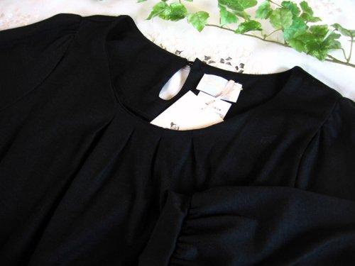 バレリーナピンク タフタエンブロイダリースカートドレスの商品写真4