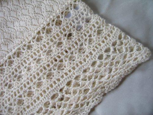 マーリア バドローズ 透かし編みコットンカーデの商品写真7